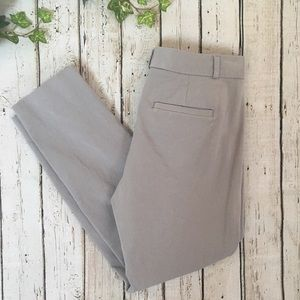 Banana Republic Sloan Fit Light Grey Pants